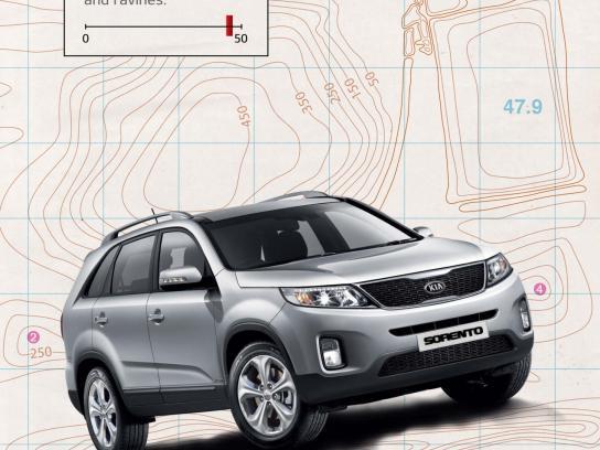 KIA Print Ad -  Fuel contours, 1