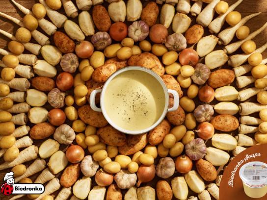 Biedronka Print Ad - Potato