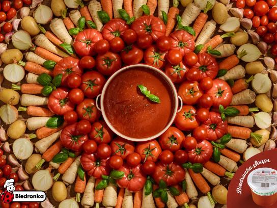 Biedronka Print Ad - Tomato