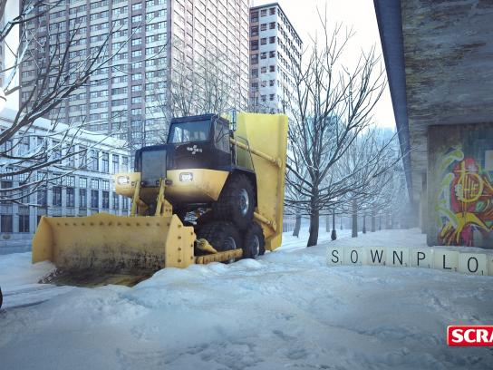 Scrabble Outdoor Ad -  Sownplow