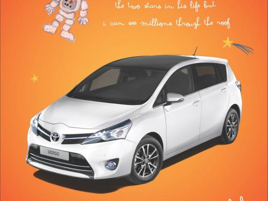 Toyota Print Ad -  Astronaut