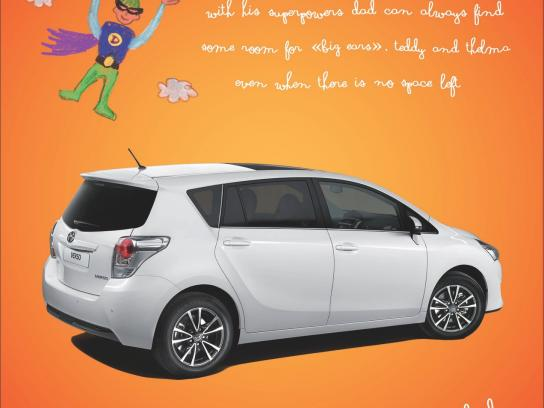 Toyota Print Ad -  Superhero