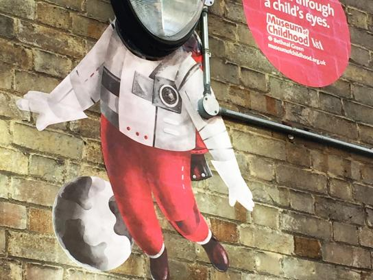 V&A Museum of Childhood Outdoor Ad -  Spaceman