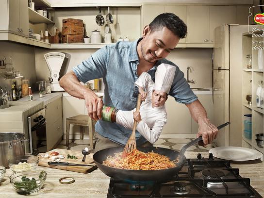 Del Monte Print Ad -  Spaghetti