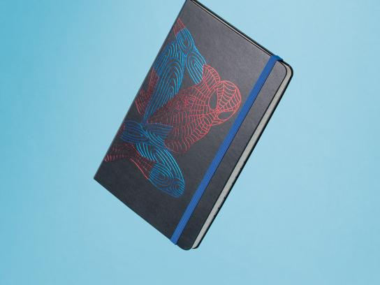 Moleskine Design Ad - Spiderman