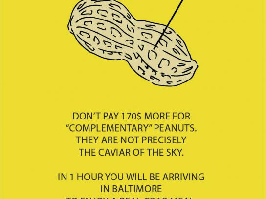 Spirit Print Ad - Flying Peanuts