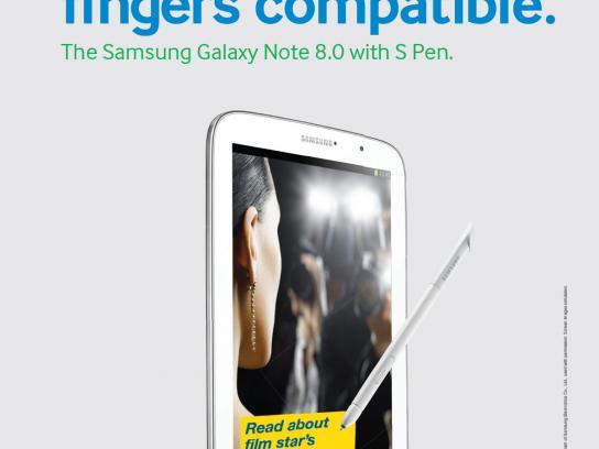 Samsung Print Ad -  Spolier Alert