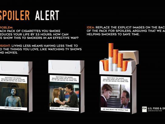 FDA Print Ad - Spoiler Alert