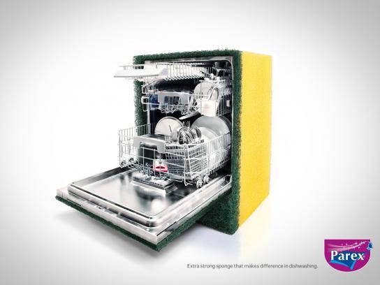 Parex Print Ad -  Sponge