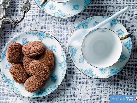 Bakers Romany Creams Choc Biscuits Print Ad -  Spoon