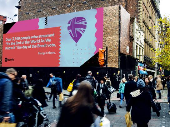 Spotify Outdoor Ad - Brexit