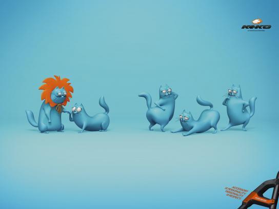 Keko Print Ad -  Cat