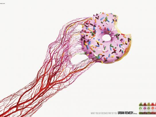 Urban Remedy Print Ad -  Donut