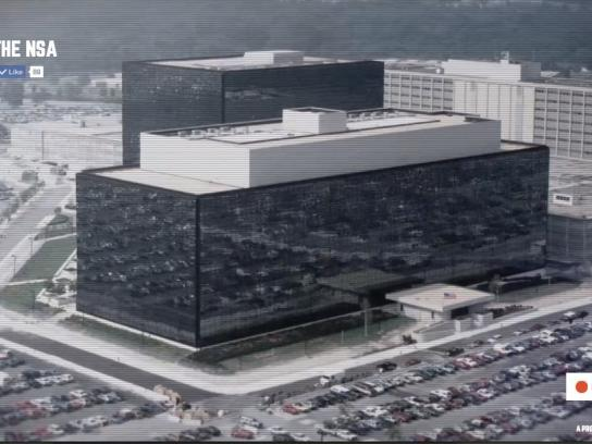 The Day We Fight Back Digital Ad -  Spy on the NSA