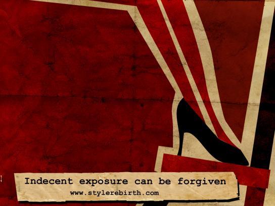 Style Rebirth Print Ad -  Indecent exposure, 2