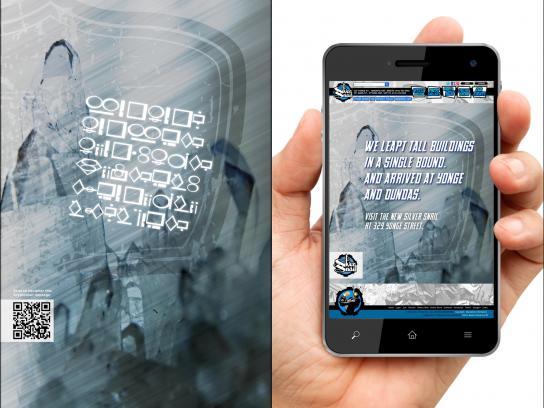 Silver Snail Print Ad -  Kryptonian