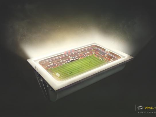 Infralite Print Ad -  Stadium