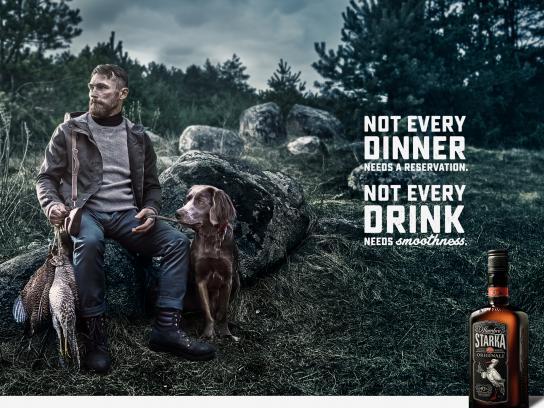 Starka Print Ad - Dinner