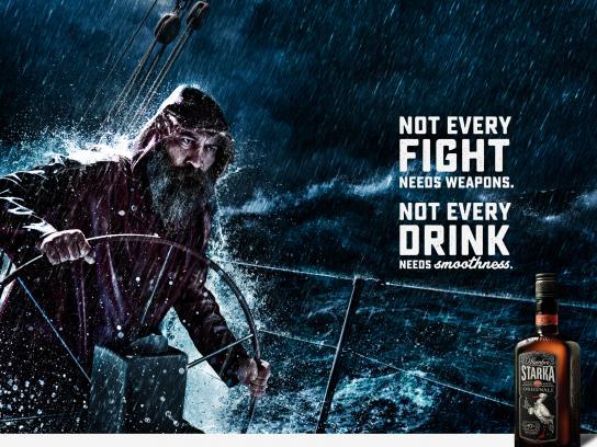 Starka Print Ad - Fight
