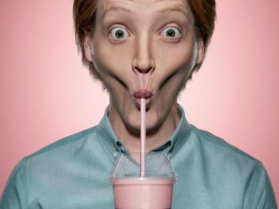 Steers Print Ad -  Ridiculously Thick Milkshake, 4
