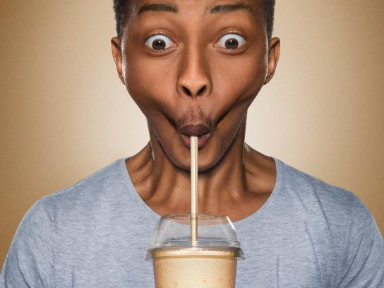 Steers Print Ad -  Ridiculously Thick Milkshake, 1
