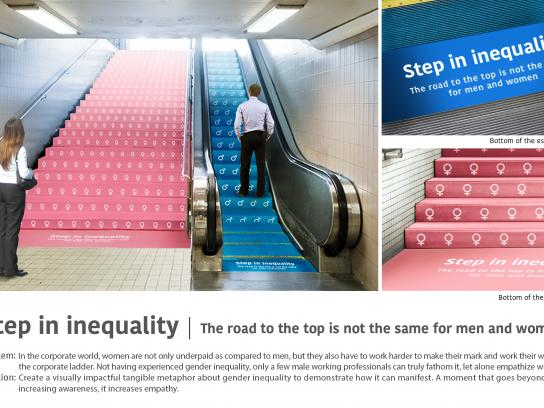 Step in inequality