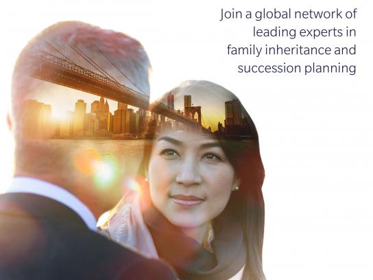 Society of Trust and Estate Practitioners Print Ad - Connections