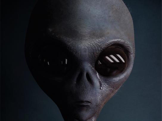 Sabado Print Ad - Alien
