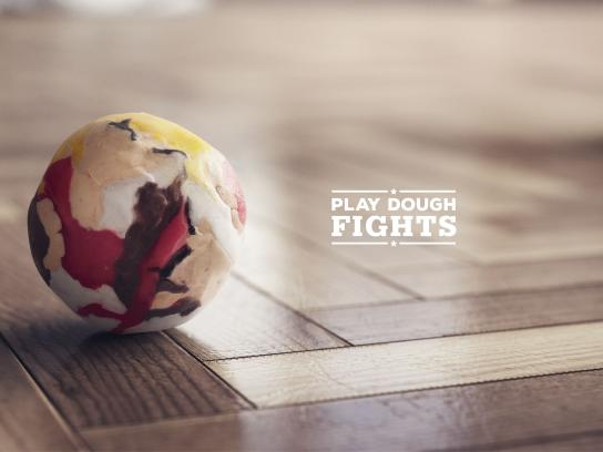 Stephens Print Ad - Play Dough Fights, 1