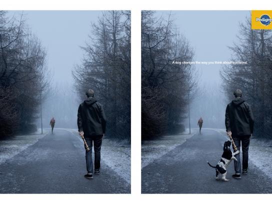 Pedigree Outdoor Ad -  Stick