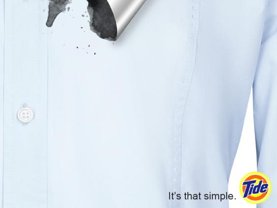 Tide Print Ad - It's That Simple, 3