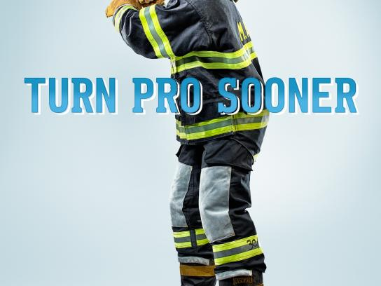 MATC Print Ad -  Firefighter