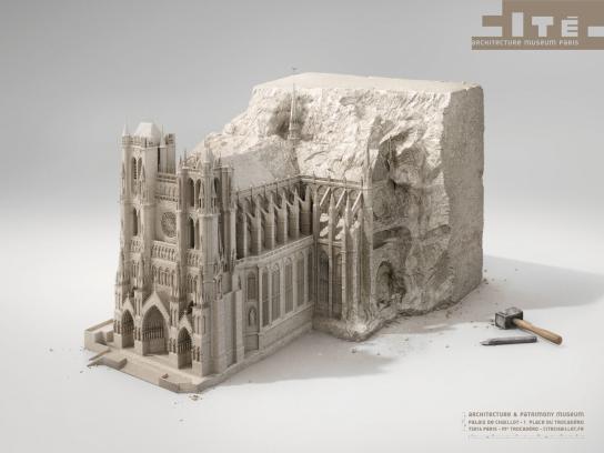 cité de l'architecture et du patrimoine Print Ad -  Stone