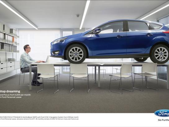 Ford Print Ad -  Stop dreaming, 1
