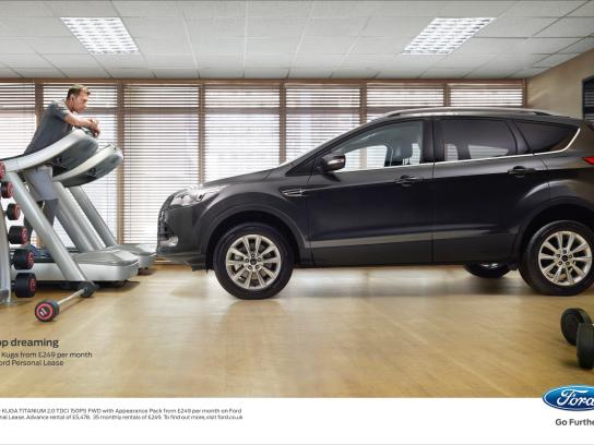 Ford Print Ad -  Stop dreaming, 3
