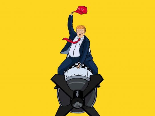 Trump Fiction Outdoor Ad - Dr. Strangelove