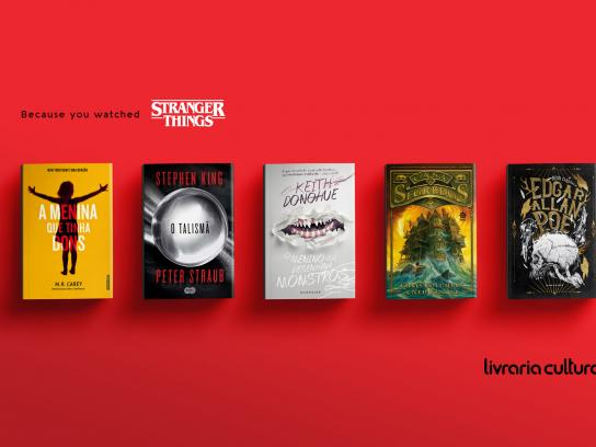 Livraria Cultura Print Ad - Stranger things