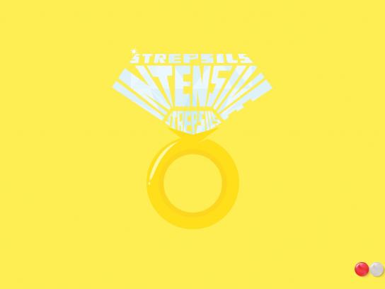 Strepsils Print Ad -  Ring