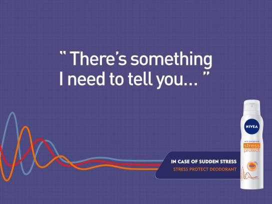 Nivea Print Ad -  Stress Protect, 2