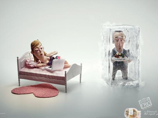Bendito Frio Print Ad -  Girl