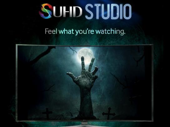 Samsung Digital Ad -  SUHD Studio