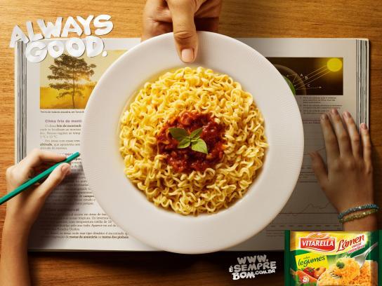 Vitarella Print Ad -  Studying