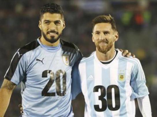 Iniciativa 2030 Ambient Ad - Suarez, Messi