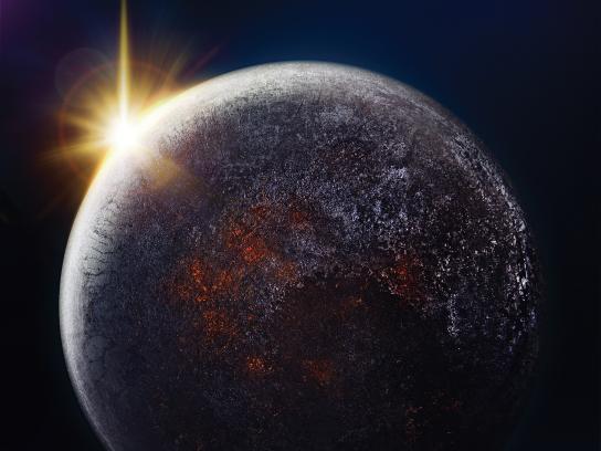 Sunlight Print Ad - Planets, 3