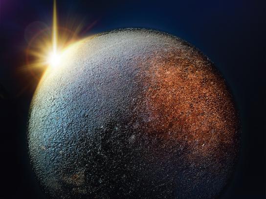 Sunlight Print Ad - Planets