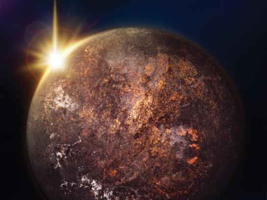Sunlight Print Ad - Planets, 2