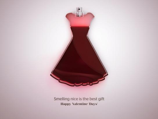 Sunlight Print Ad - Happy Valentine Day