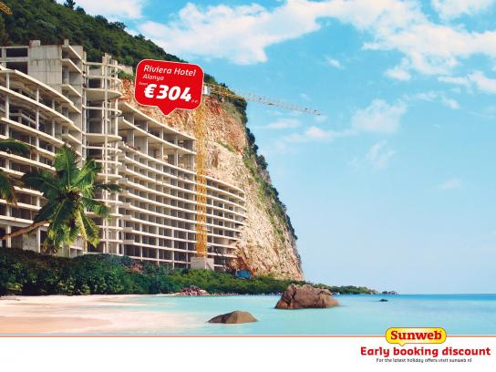 Sunweb Travel Print Ad -  Early booking discount, 1