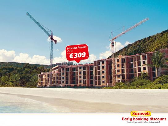 Sunweb Travel Print Ad -  Early booking discount, 3