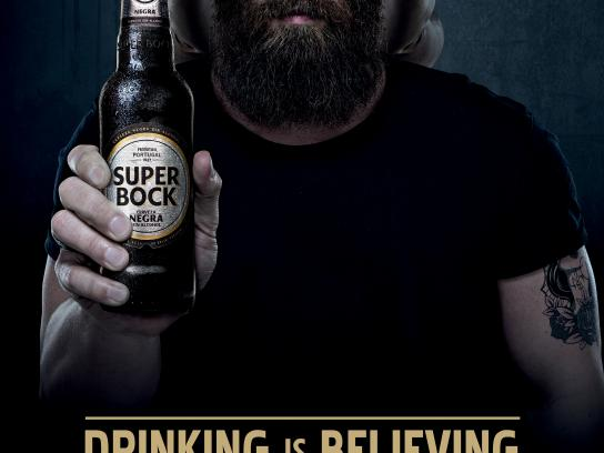 Super Bock Print Ad - Man